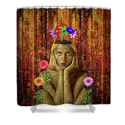 Delightful Shower Curtain by Scott Meyer