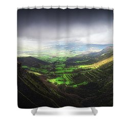 Delika Canyon Shower Curtain