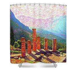 Delphi Magic Shower Curtain