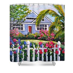 Delray Beach Shower Curtain