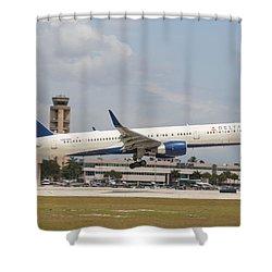 Delta Airline Shower Curtain