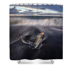 Shower Curtain featuring the photograph Delta by Dustin  LeFevre