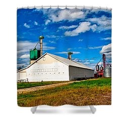 Delta Farmers Co Op Shower Curtain