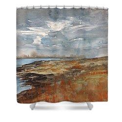 Delta Marsh - Fall Shower Curtain