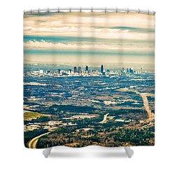 Atlanta Shower Curtain by Robert FERD Frank