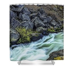 Deluge At The Falls Shower Curtain