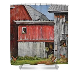 Deluxe Accommodations Shower Curtain