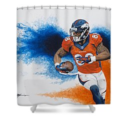 Demaryius Thomas Shower Curtain