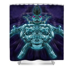 Shower Curtain featuring the photograph Demonwood 2 by WB Johnston