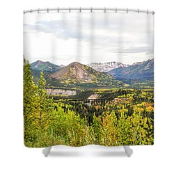 Denali National Park Landscape No 2 Shower Curtain