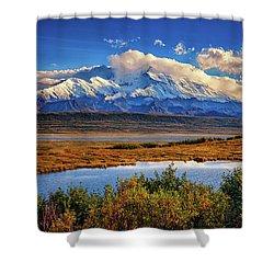 Denali, The High One Shower Curtain