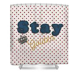 Denim Shower Curtain by La Reve Design