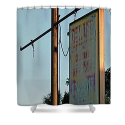 Dental Services Shower Curtain