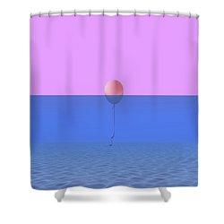 Dentro O Fuori Shower Curtain