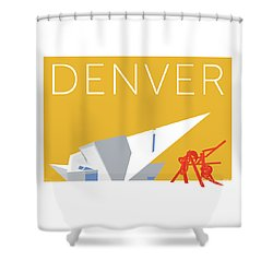 Denver Art Museum/gold Shower Curtain