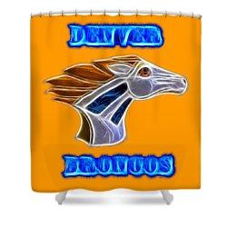 Denver Broncos 2 Shower Curtain