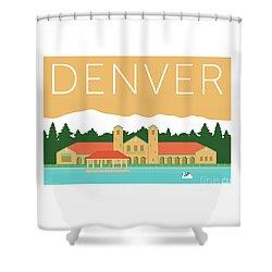 Denver City Park/adobe Shower Curtain