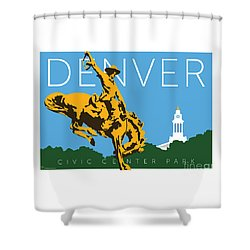 Denver Civic Center Park Shower Curtain