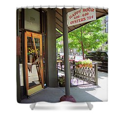 Denver Happy Hour Shower Curtain by Frank Romeo