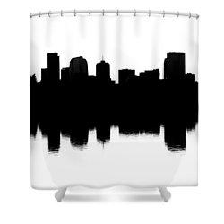 Denver Silhouette Shower Curtain
