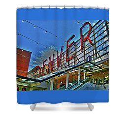 Denver Shower Curtain