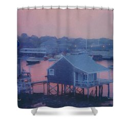 Departing Nantucket Shower Curtain