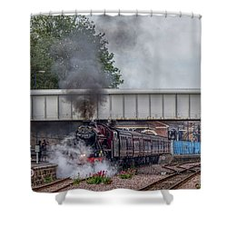 Departing Scarborough Shower Curtain