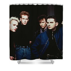 Depeche Mode Shower Curtain