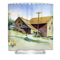 Depot Hill, Dutch Flat,1910 Shower Curtain