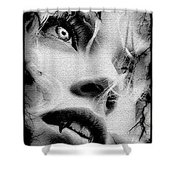 Depression Shower Curtain by Tbone Oliver