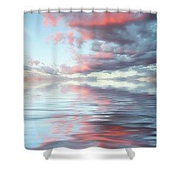 Depth Shower Curtain by Jerry McElroy