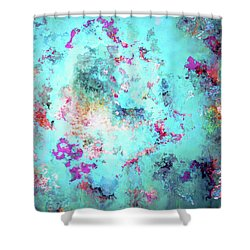 Depths Of Emotion - Abstract Art Shower Curtain