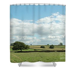 Derbyshire Landscape Shower Curtain
