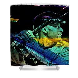 Derek Jeter Shower Curtain