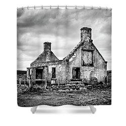 Derelict Croft Shower Curtain