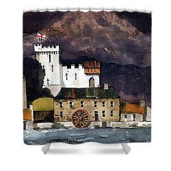 Deridelsford Castle Bray 1259ad Shower Curtain