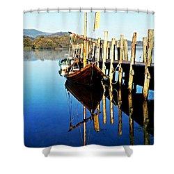 Derwent Water Boat Shower Curtain