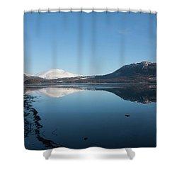 Derwentwater Shore View Shower Curtain