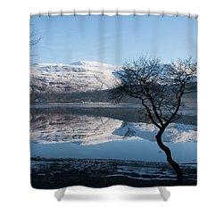 Derwentwater Tree View Shower Curtain