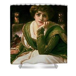 Desdemona Shower Curtain by Frederic Leighton