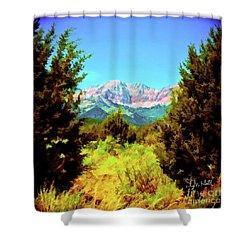 Deseret Peak Shower Curtain