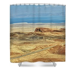 Desert And Dead Sea Shower Curtain