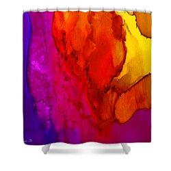 Desert Shower Curtain by Angela Treat Lyon