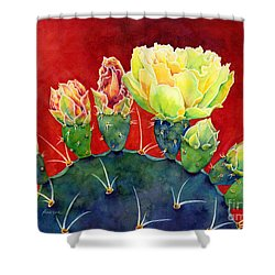 Desert Bloom 3 Shower Curtain