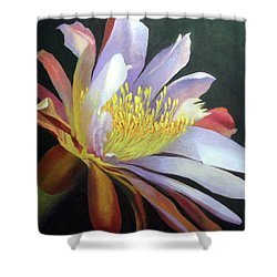 Desert Cactus Flower Shower Curtain