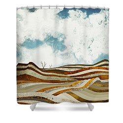 Desert Calm Shower Curtain