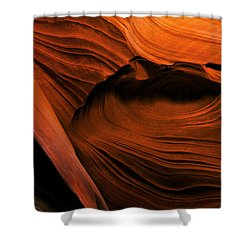 Desert Carvings Shower Curtain by Mike  Dawson