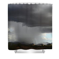 Desert Downpour Shower Curtain