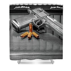 Desert Eagle .50ae Magnum Shower Curtain