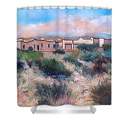 Desert Estate Shower Curtain by M Diane Bonaparte
